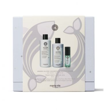 Maria Nila Sheer Silver Holiday Giftbox