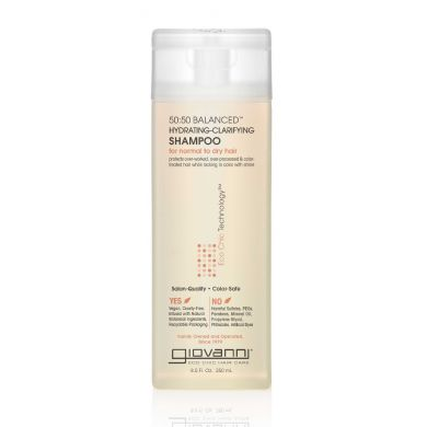 Giovanni Cosmetics - 50:50 Balanced Hydrating-Clarifying Shampoo - 250 ml