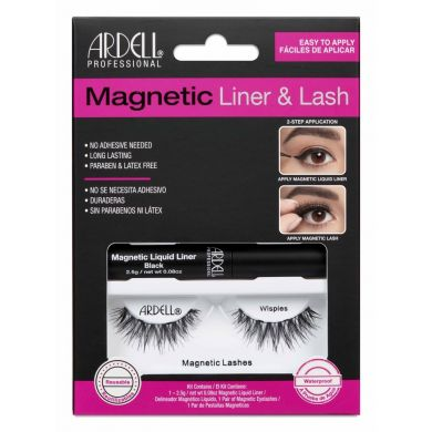 Ardell Magnetic Liquid Eyeliner & Lash - Wispies