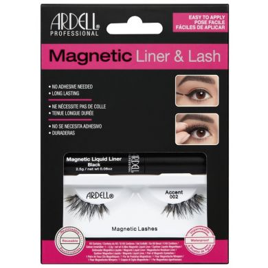 Ardell Magnetic Liquid Eyeliner & Lash - Accent 002