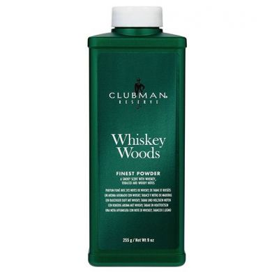 Clubman Pinaud Whiskey Woods Talkpoeder 255 gr