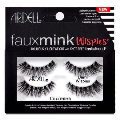 Ardell Faux Mink Demi Wispies Twin Pack