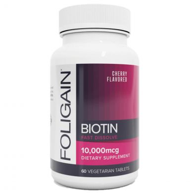 Foligain Snel Oplossend Biotine Supplement - 10.000 mcg