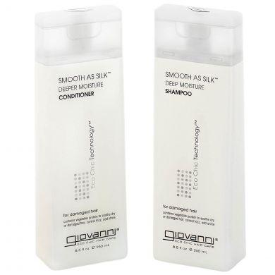 Giovanni Cosmetics - Smooth as Silk Hair Care Set