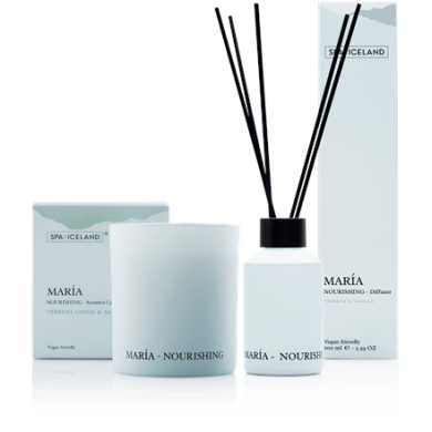 Spa of Iceland Geurkaars & Diffuser GiftSet - Maria