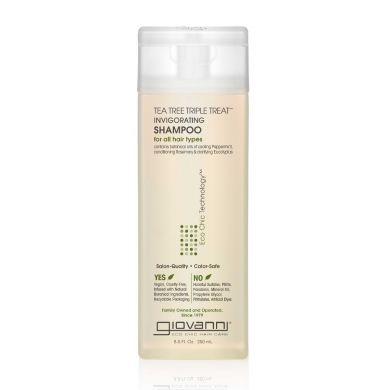Giovanni Cosmetics - Tea Tree Triple Treat Invigorating Shampoo 250 ml