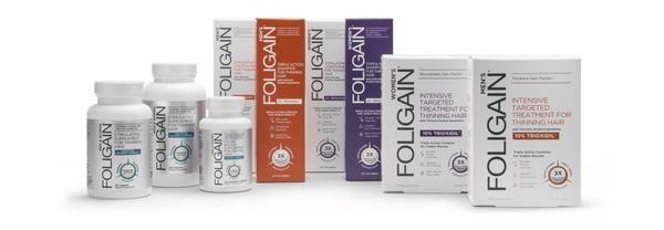 Foligain anti-haaruitval behandeling voor mannen en vrouwen