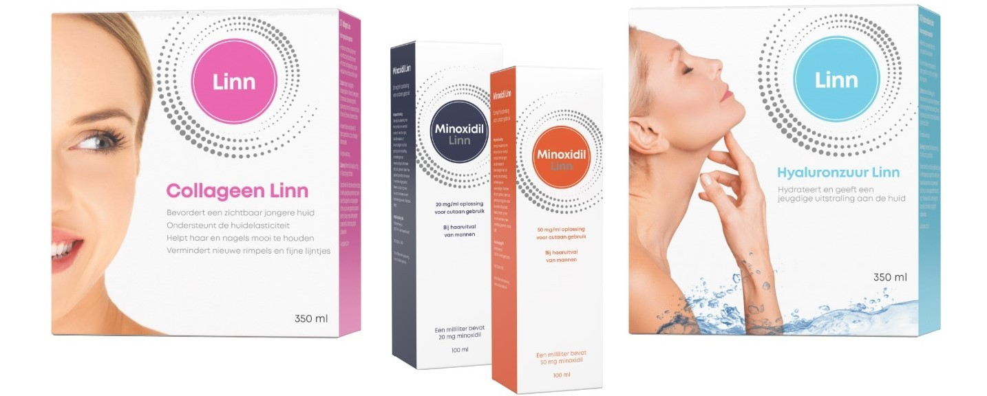 Minoxidil , collageen en hyaluronzuur