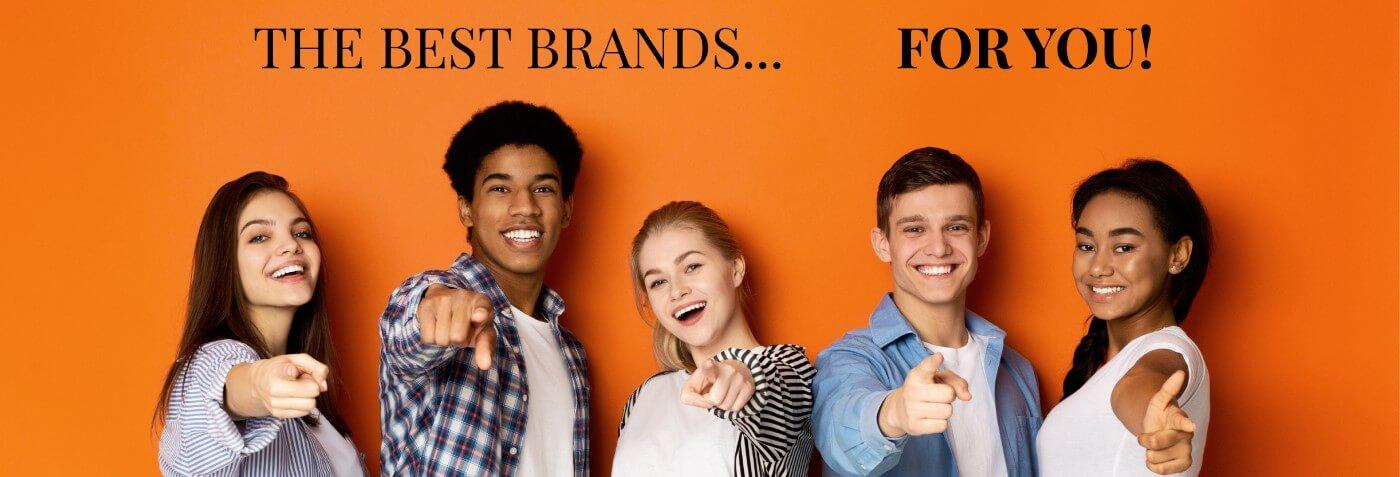 jouw favoriete merken