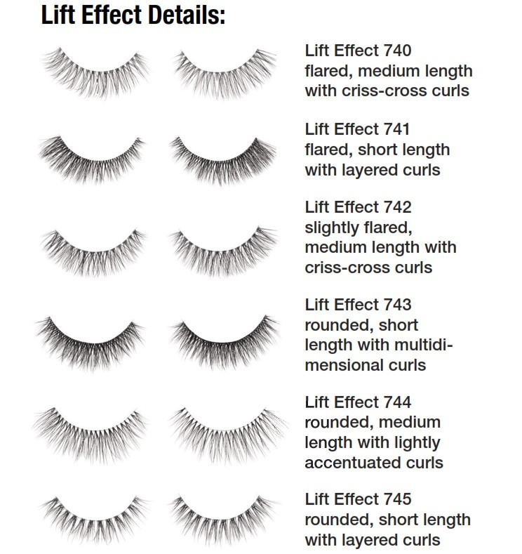 Ardell Lift Effect Lash wimpers details