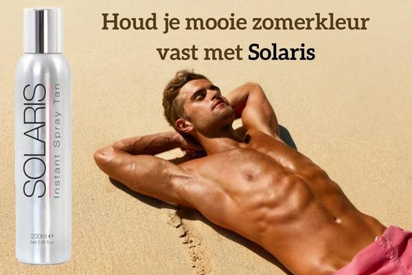 Solaris zelfbruiner voor mannen werkt optimaal