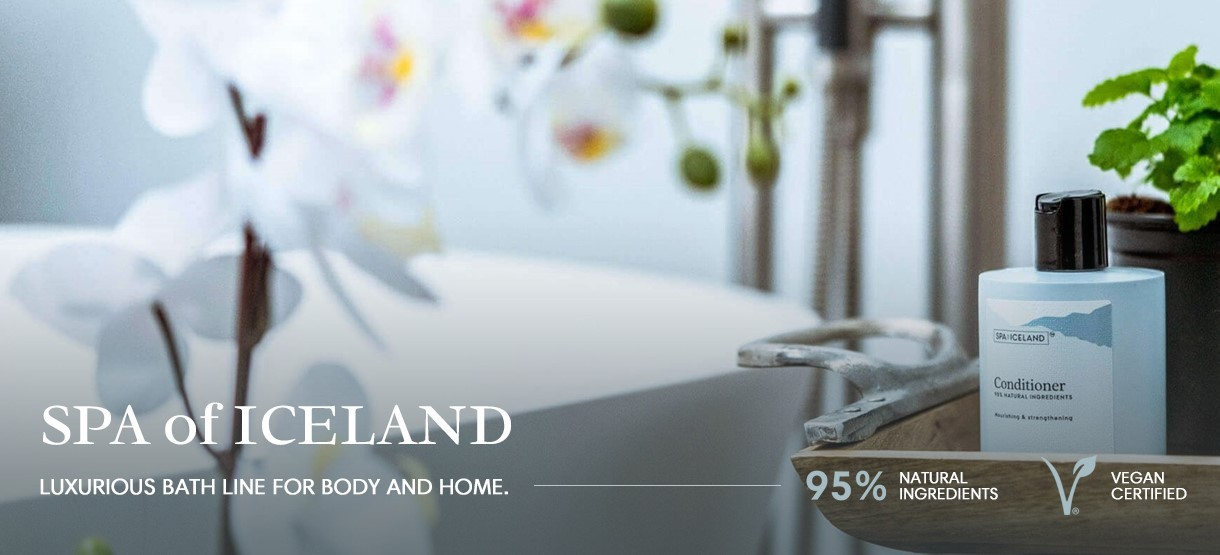 Spa of Iceland badzout en douche producten