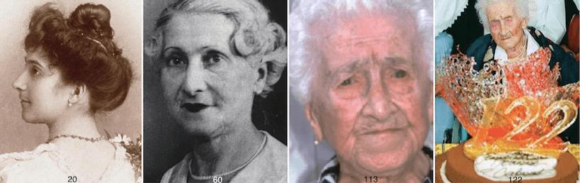 Oudste vrouw ter wereld bleef lang jong
