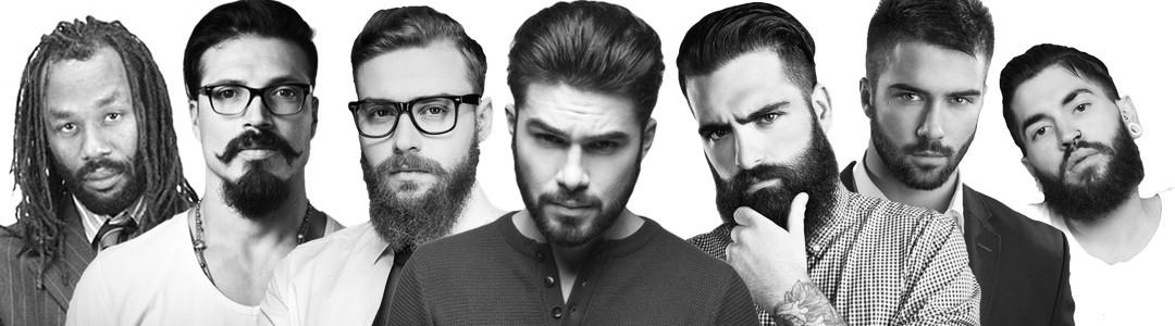 mannen met baard