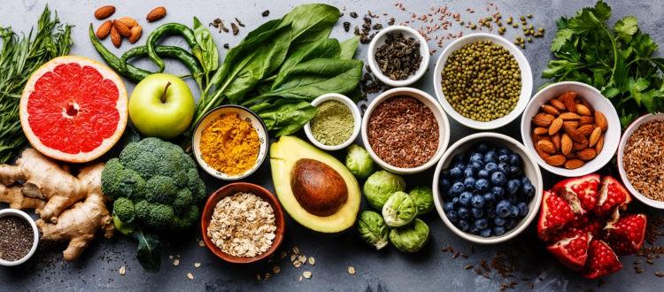 gezond voedsel om je haarlokken te behouden
